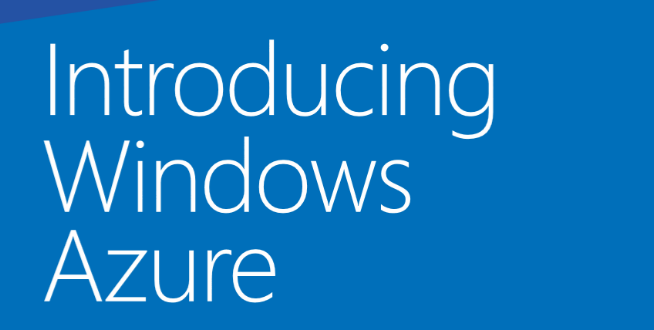 eBook gratis: Introducing Windows Azure