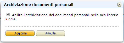 Abilita Documenti Personali on the Cloud