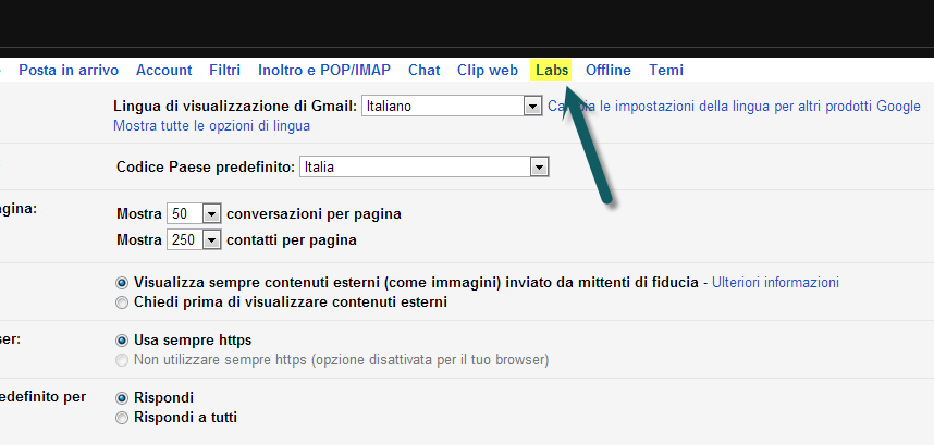 Labs GMail