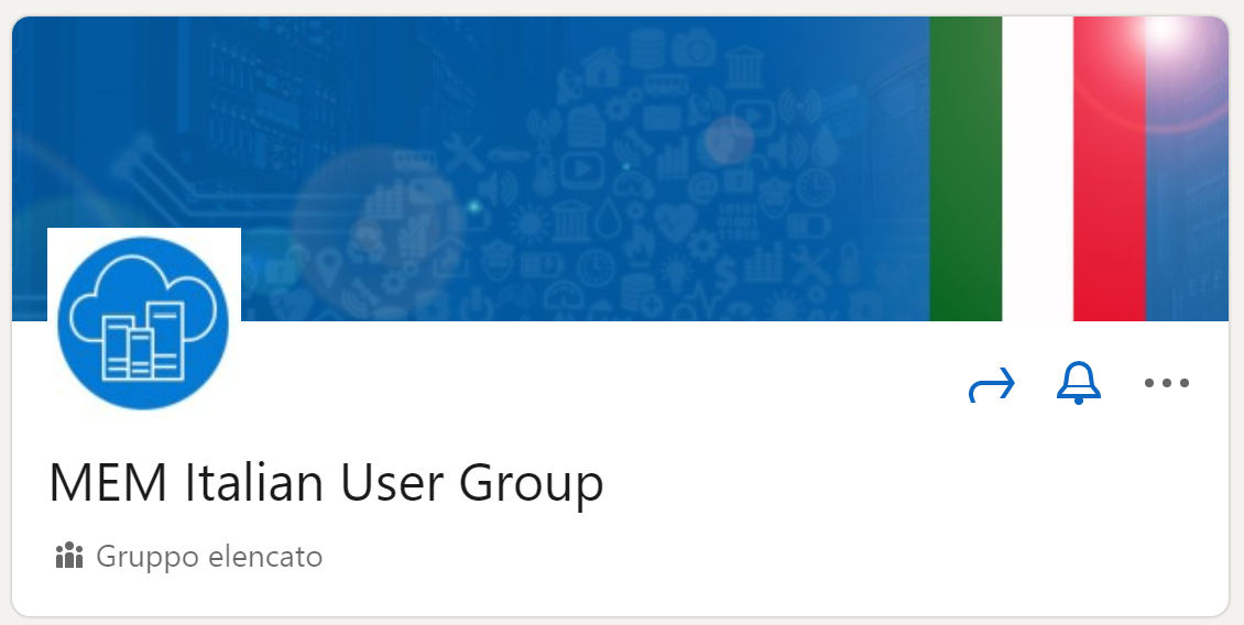Microsoft Endpoint Manager Italian User Group